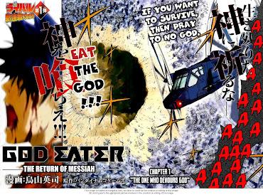 #7 Gods Eater Burst Wallpaper