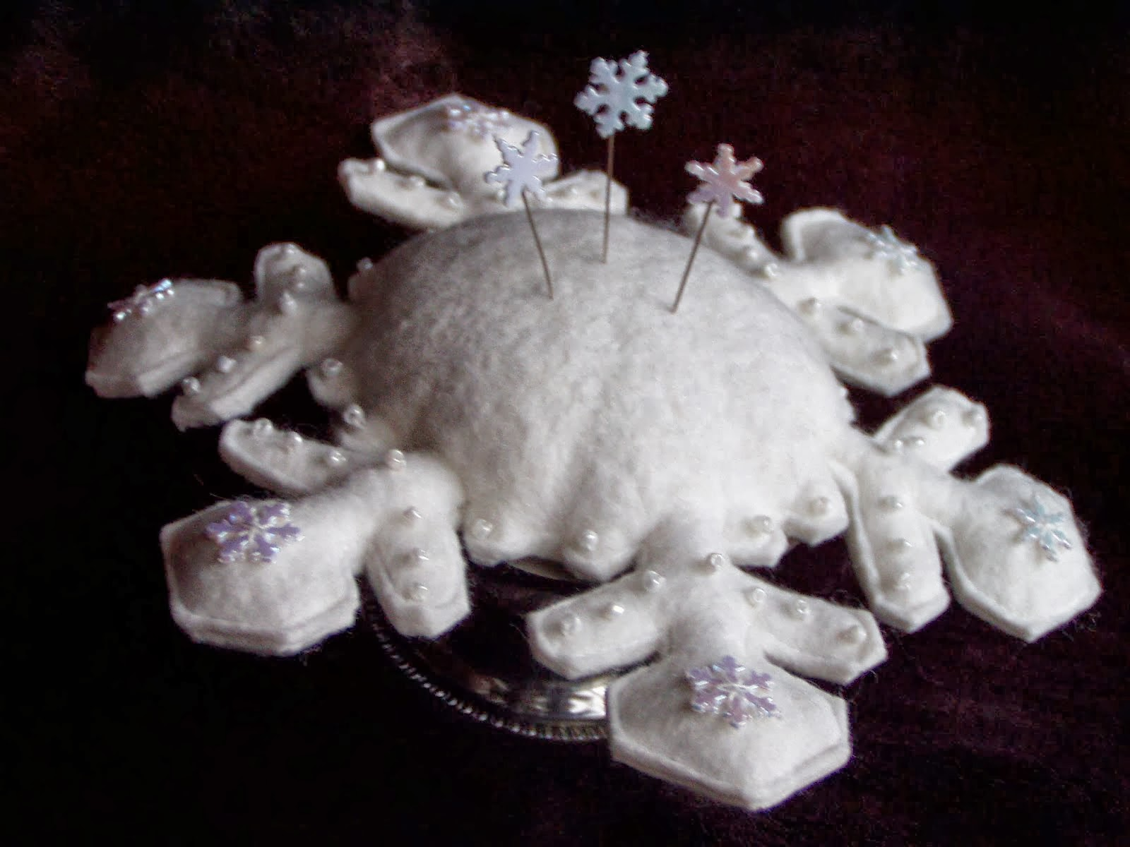 Snowflake Pincushion ePattern