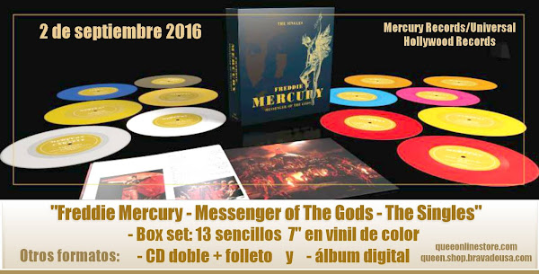 """FREDDIE MERCURY - MESSENGER OF THE GODS"""