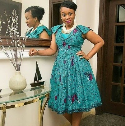 Creative Ankara Gown Style - DeZango Fashion Zone