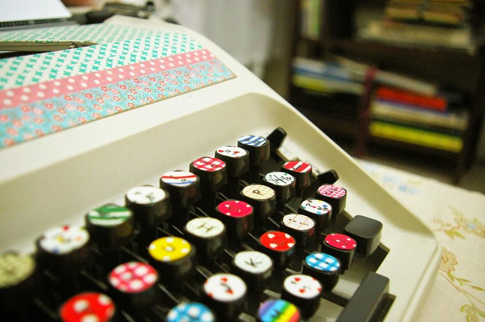 Máquina Escribir Washi Tape