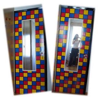 como pintar portas coloridas