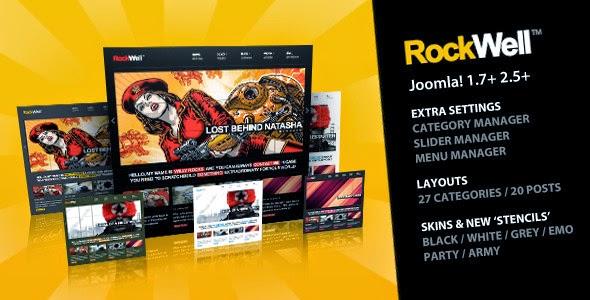 Rockwell - Joomla Template 2.5