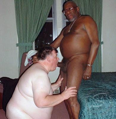Sexo con manteca gordo