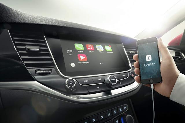 Novo Opel Astra 2016 - sistema multimídia
