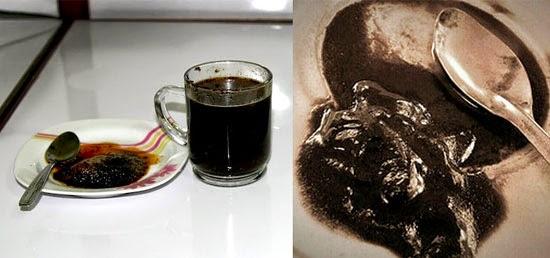 ampas kopi tubruk