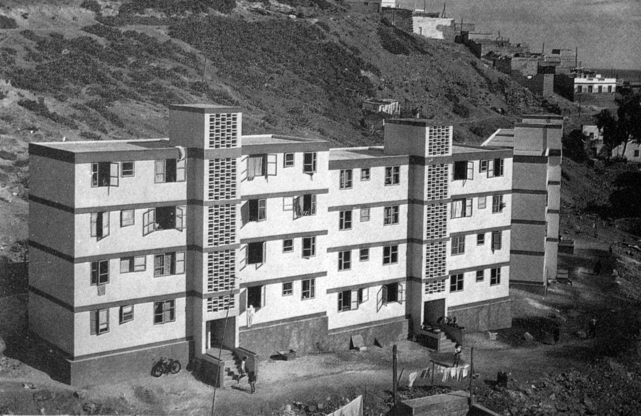 Evoluci n de la arquitectura urbana para la ciudadan a for Arquitectura franquista