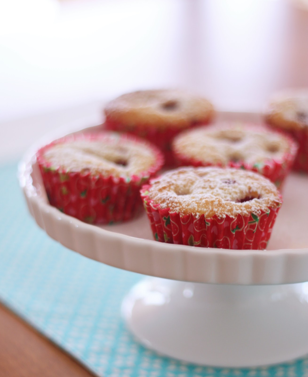 Raspberry and Lemon Muffins - A Spoonful of Sugar