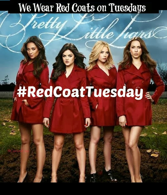 #RedCoatTuesday, Red Coat Tuesday, Pretty Little Liars, beauty blogger linkup, Essie, Essie Leading Lady, nail polish, nail lacquer, nail varnish, nails, manicure, Essie Winter 2012 Collection