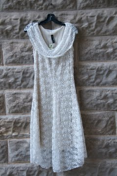 White Lace dress..Oh my!!!