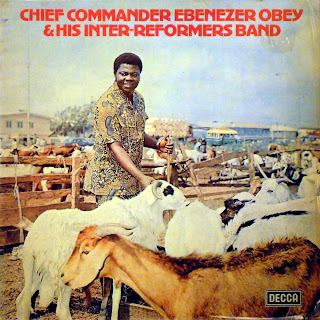 Chief Commander Ebenezer Obey& his Inter-Reformers Band -Oluwa Ni Olusa Agutan Mi,Decca 1978