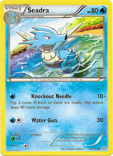 Seadra Primal Clash Pokemon Card