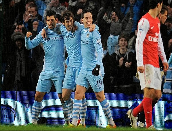 Manchester City vs Arsenal 6-3 Premier League