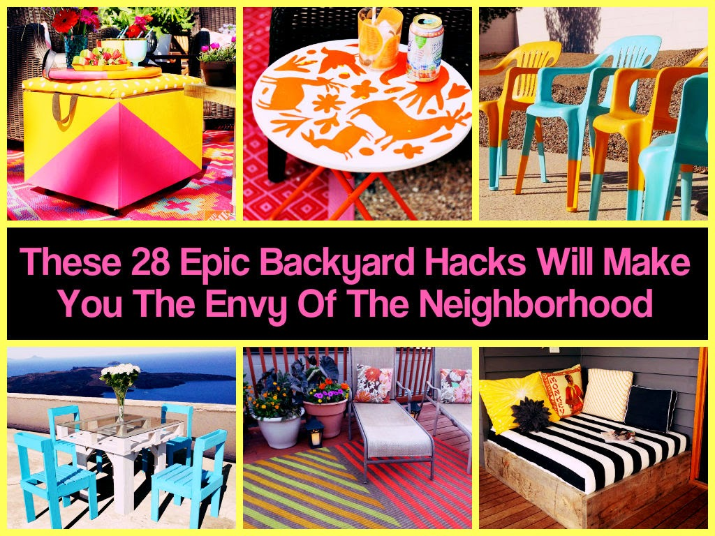 These 28 Epic Backyard Ideas Will Make You The Envy Of The Neighborhood