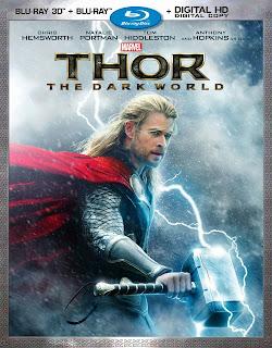 thor the dark world blu-ray 3D dvd