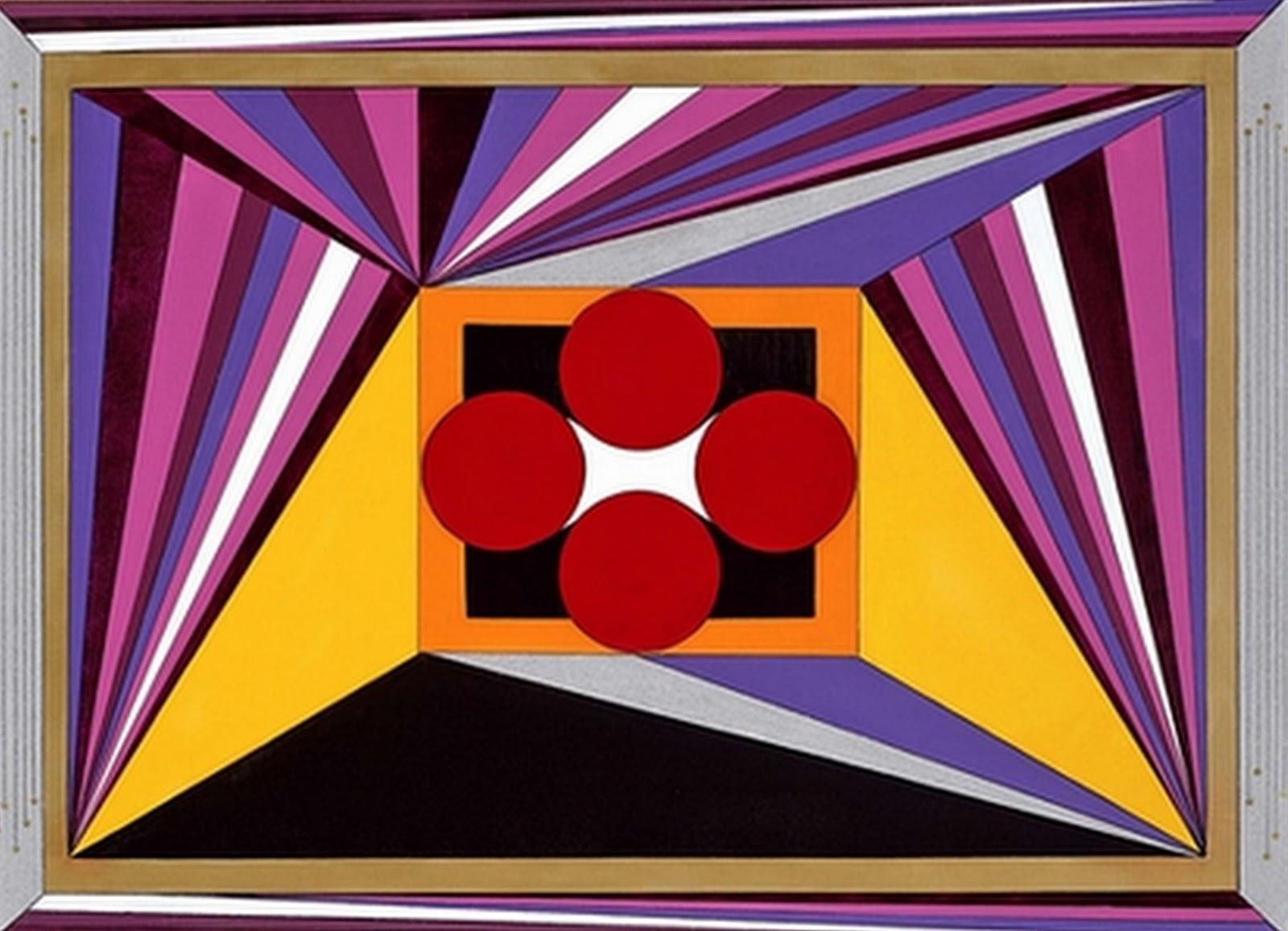 Cuadros Modernos: Pinturas de Colores Vivos, Bernad Katzeff