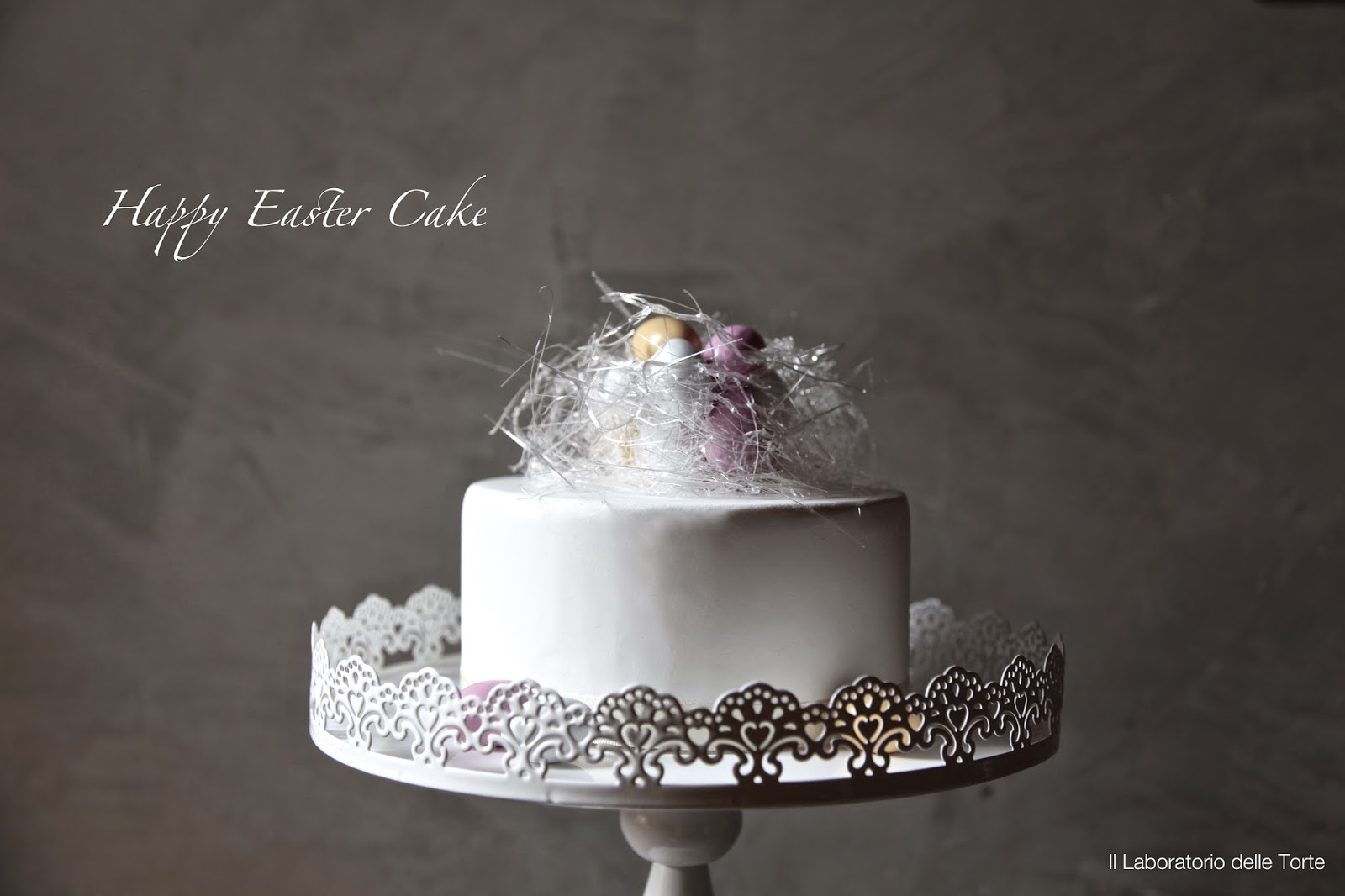 torta decorata per pasqua