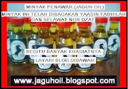 MINYAK PENAWAR (JAGUH OIL)