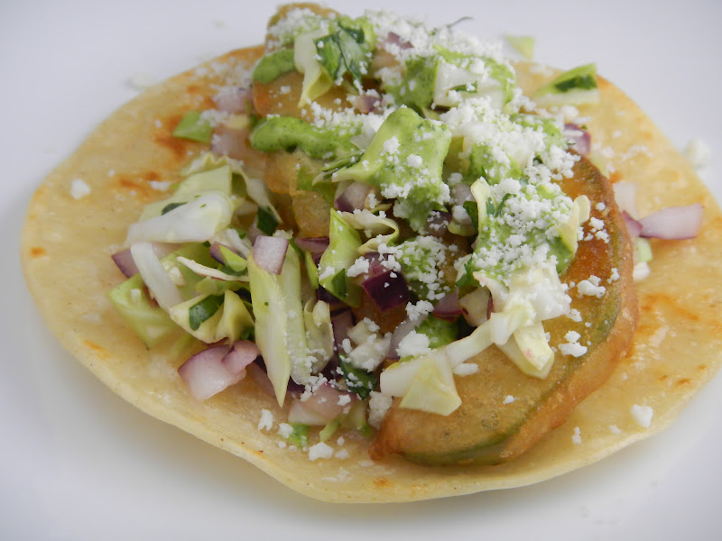 Liz's Livelihood: Beer-Battered Avocado Tacos