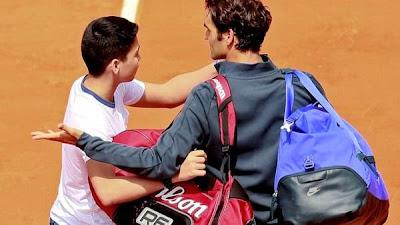 Roland Garros, Roger Federer, selfie