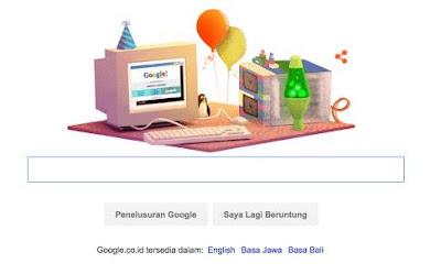 Google ulang tahun ke 17
