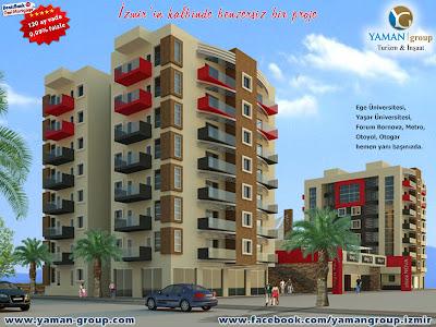 Denizbank-Yaman Group Mortgage işbirliğiyle İzmir Bornova'da satılık daireler