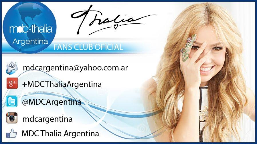 Fans Club Mundo de Cristal Thalía Argentina  -mdcargentina@yahoo.com.ar-
