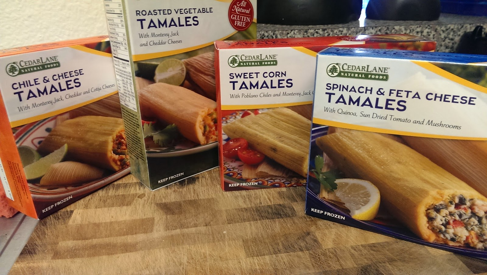 tamales Cedar Lane's New Gluten Free, Vegetarian Tamales - Cedar Lane Frozen Foods