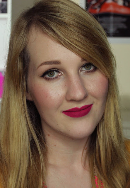 Australis Velourlips Matte Lip Cream - SHANG-HI! Swatches & Review