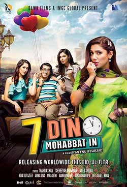 7 Din Mohabbat In 2018 Pakistani 300MB Movie DTHRip 480p