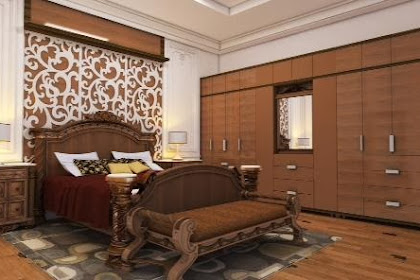 Jasa Desain Kamar utama Klasik Modern Victorian