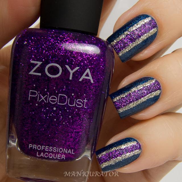 Zoya_PixieDust_Tomoko_Carter_Smitten_Polish_Bifrost_Freehand_Nail_art