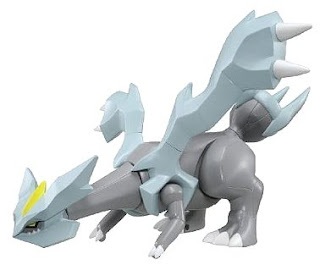 Pokemon Remote Control Figure Kyurem Battle Action Series Tomy
