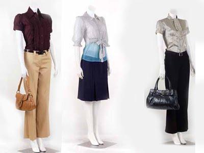Model Baju Kerja Wanita Terbaru Modern Contoh Model T