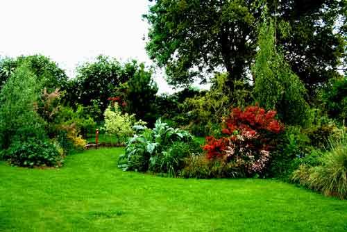 Photos de jardin et paysage st georges buttavent 53100 for Paysagiste jardin