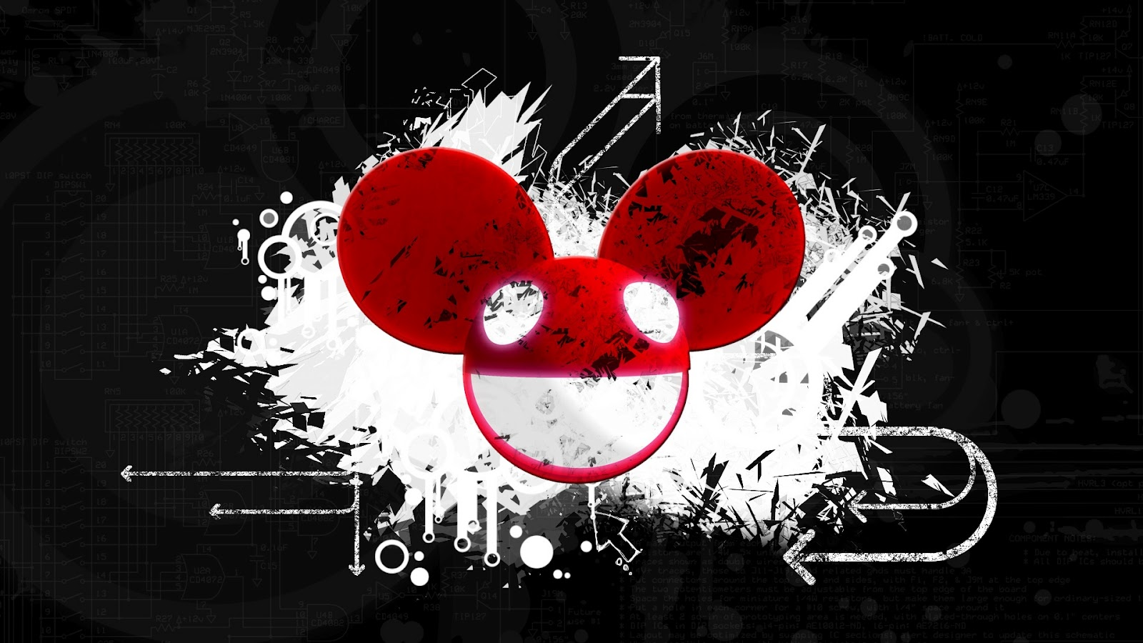 Deadmau5 wallpaper for Mouse house music