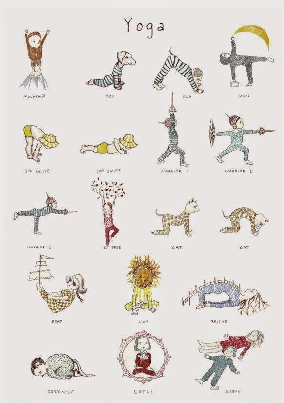 Na última aula de Yoga para Crianças ee059790f729