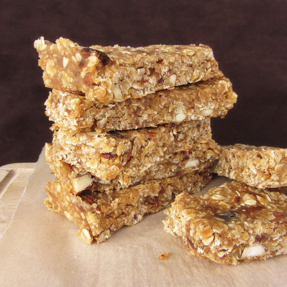 peanut butter lentil granola bars