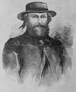 illustration of Ben Hall the bushranger