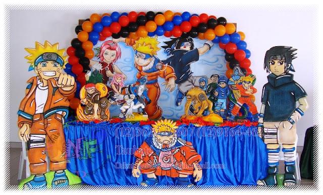 decoracao festa naruto:Neide Festas Buffet e Decorações: Naruto