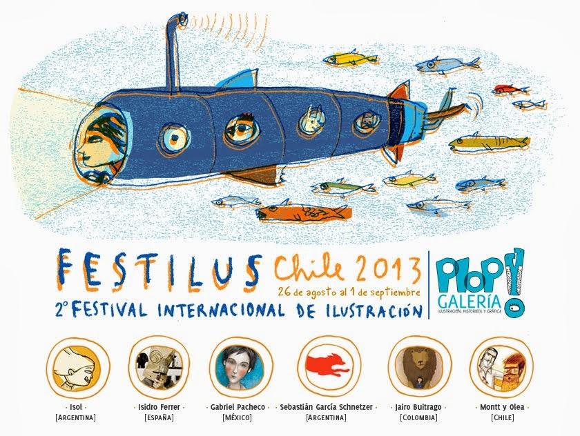 Festilus Chile 2013 · 2º Festival Internacional de Ilustración