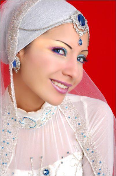 Hijab de mariée