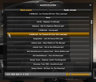 ETS2 musicplayer R key