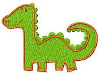 Dinosaurus - apatosaurus