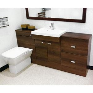 Bathroom City: Pasha Brown 600 Vanity Unit on walnut vanity top, walnut dresser, walnut windows, vintage walnut vanity, walnut room, walnut countertops, walnut sinks, euro vanity, walnut entertainment center, walnut chest, walnut bedroom, walnut fireplace, mahogany vanity,