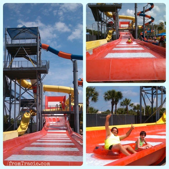 Family water park fun