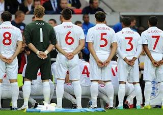 Informasi Berita Inggris, Timnas Inggris Euro 2012