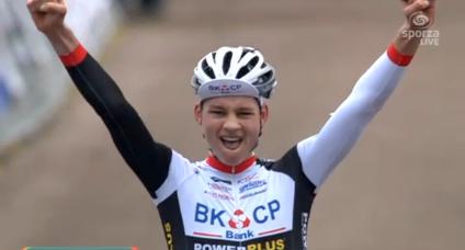 Van der Poel remporte le Scheldecross 2014