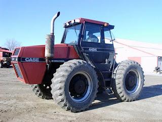 EQ-25247 Case 4494 tractor