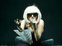 Lady Gaga performing image